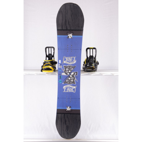 snowboard SALOMON CRAFT, BLUE/black, WOODCORE, CAMBER ( TOP stav )