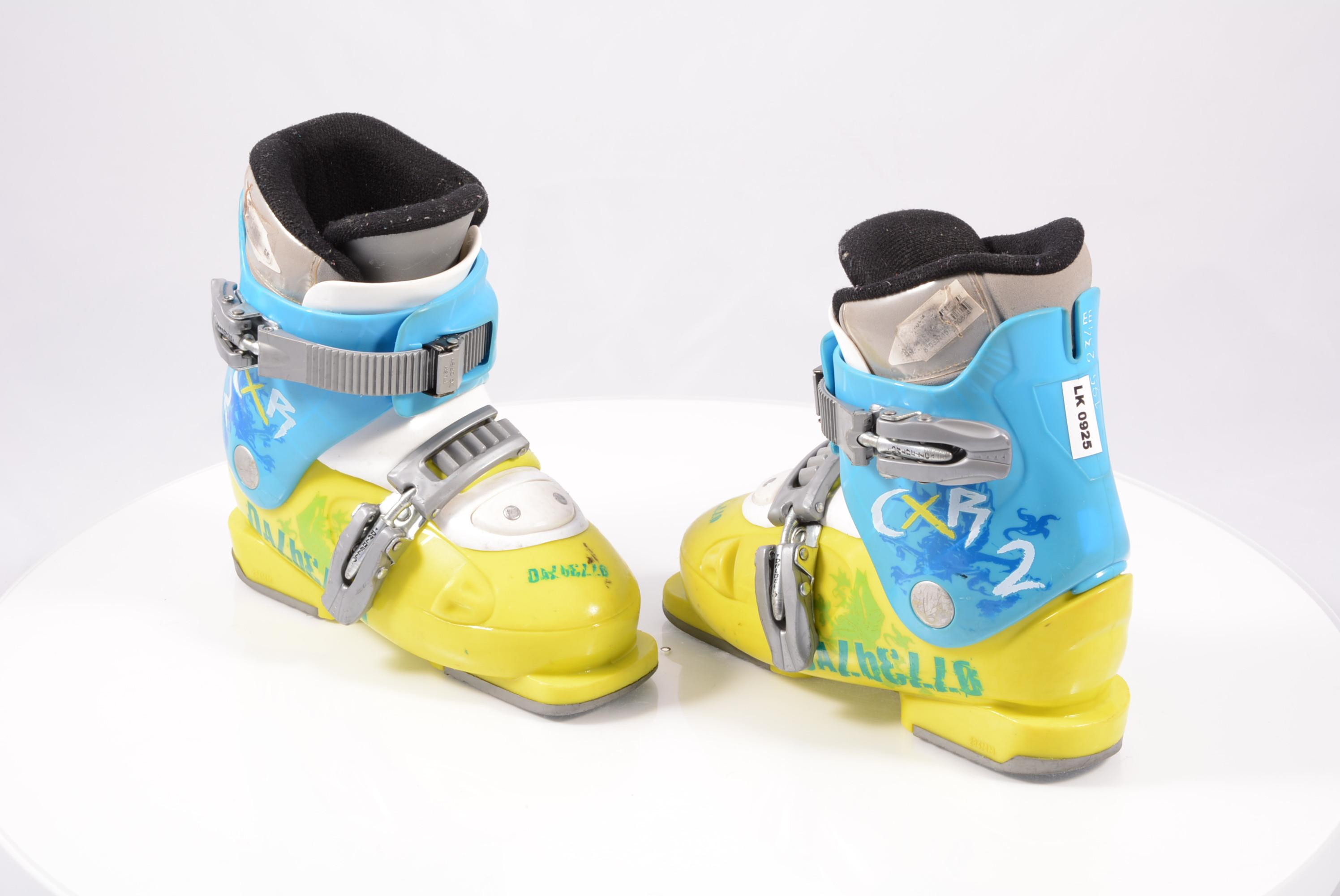 23.5 Dalbello CX Kids Ski Boots