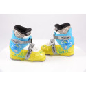 children's/junior ski boots DALBELLO CXR 2, ratchet buckle, BLUE/yellow