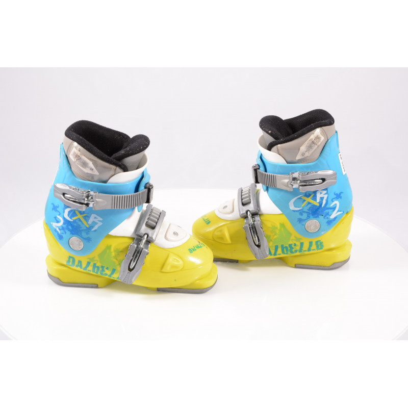 detské/juniorské lyžiarky DALBELLO CXR 2, ratchet buckle, BLUE/yellow
