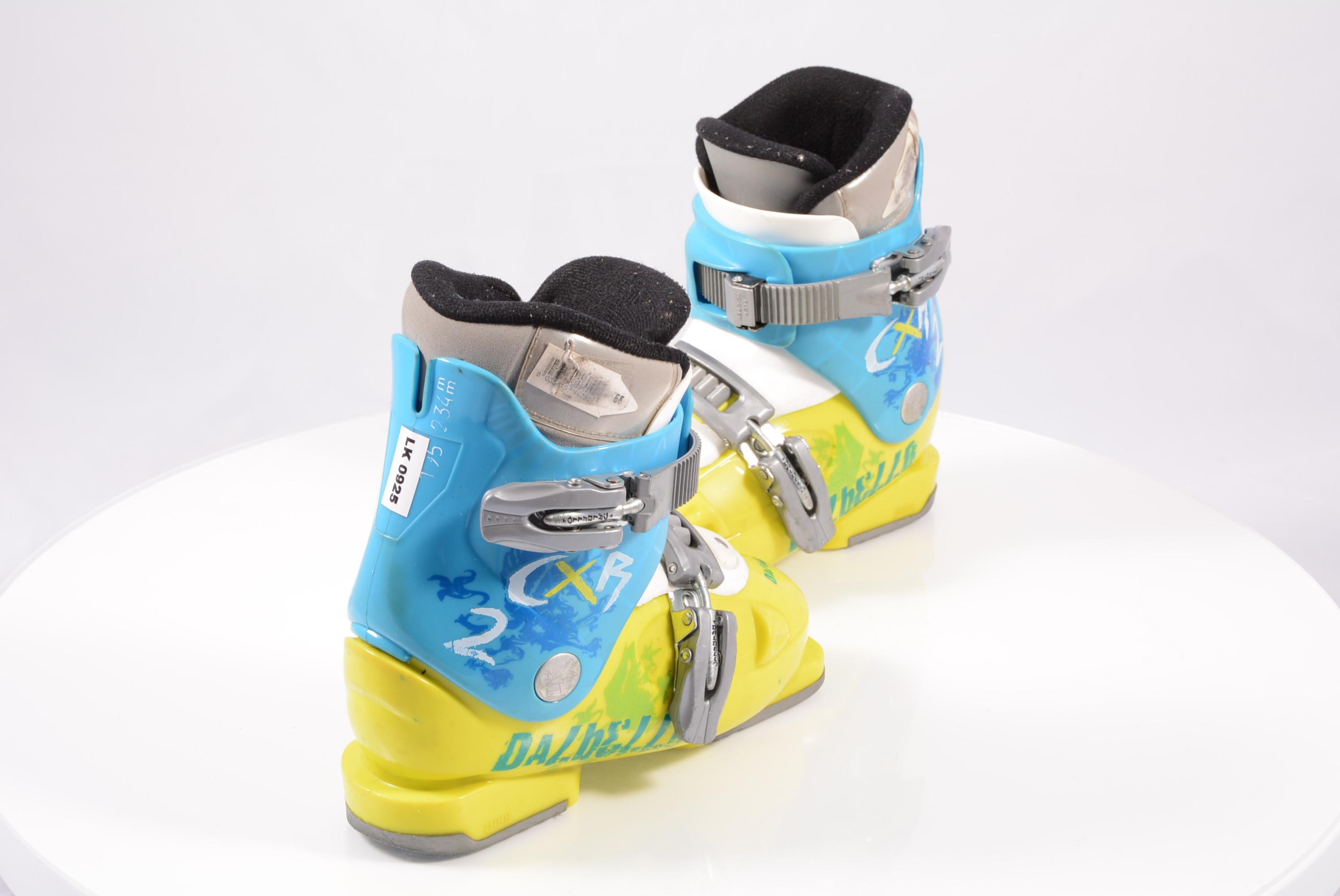 35 // 22.5 gg-034 Gr Skischuh Skistiefel Kinder Dalbello CXR 2