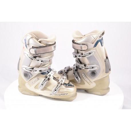 women's ski boots TECNICA RIVAL RT7, rapid access, GREY, custom orthofit tongue, SKI/WALK, custom arch
