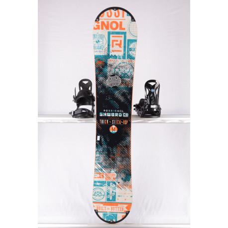 snowboard ROSSIGNOL TRICK STICK RSP, WHITE/blue, WOODCORE, sidewall, ROCKER