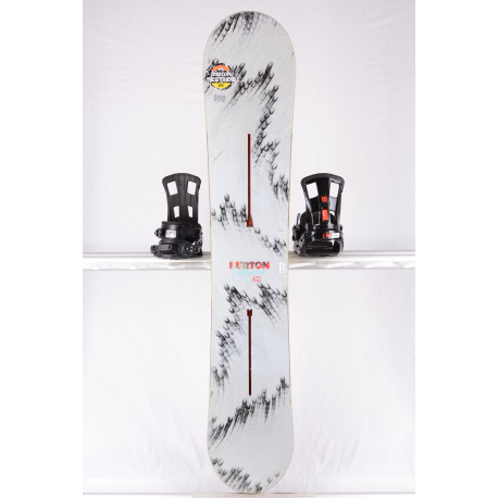 placa snowboard BURTON FEELGOOD, GREY, WOODCORE, sidewall, CAMBER