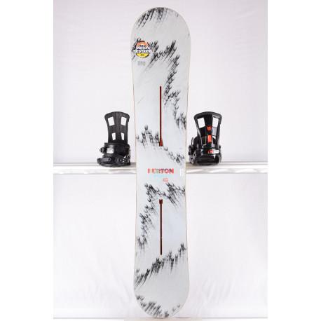 snowboard BURTON FEELGOOD, GREY, WOODCORE, sidewall, CAMBER