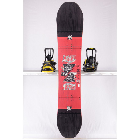 snowboard SALOMON CRAFT, RED/black , WOODCORE, CAMBER