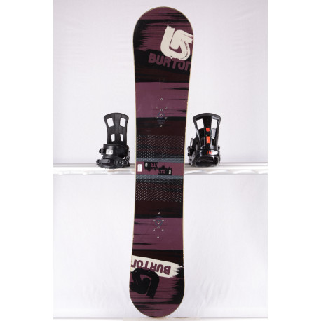 snowboard BURTON PROGRESSION LTR STREAK, PURPLE/black, WOODCORE, sidewall, CAMBER