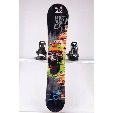 snowboard LIB TECH TRS C2-POWER BANANA BTX, BLACK/green, WOODCORE, sidewall, HYBRID/rocker