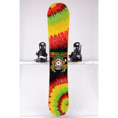 snowboard SANTA CRUZ EYE, FULL WOODCORE, sidewall, True twin, CAMBER