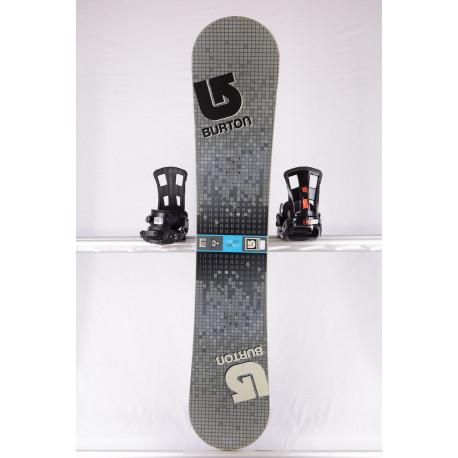 snowboard BURTON LTR BLOCK, GREY/blue, WOODCORE, sidewall, CAMBER ( TOP stav )