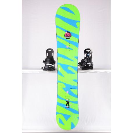 snowboard RIDE BUCK WILD, BLUE/green, WOODCORE, slimewalls, FLAT/rocker