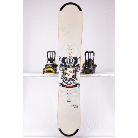 snowboard SALOMON PULSE CHESS, WHITE, WOODCORE, sidewall, CAMBER
