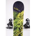 snowboard LIB TECH SKATE BANANA BTX, BLACK/yellow, WOODCORE, sidewall, HYBRID/rocker