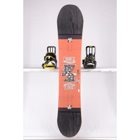 snowboard SALOMON CRAFT, ORANGE/black, WOODCORE, CAMBER