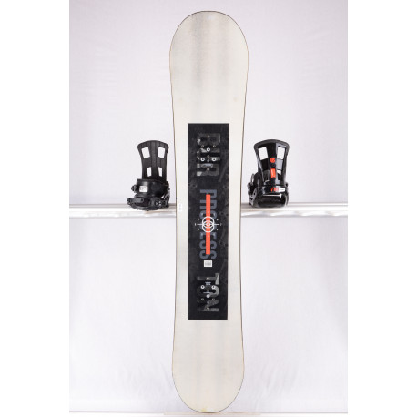 snowboard BURTON PROCESS EXPERIENCE 2019 white/black, woodcore, ALL mountain, CAMBER/flat