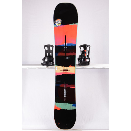 snowboard BURTON PROCESS EST, BLACK/sestr, THE CHANNEL, WOODCORE, sidewall, CAMBER/flat ( TOP stav )