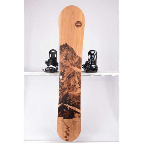snowboard GOODBOARDS WOODEN, DOUBLE WOODCORE, carbon, kevlar, handmade, CAMBER ( TOP stav )