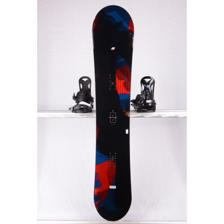 snowboard K2 RAYGUN 2019, BLACK/red, WOODCORE, sidewall, FLAT