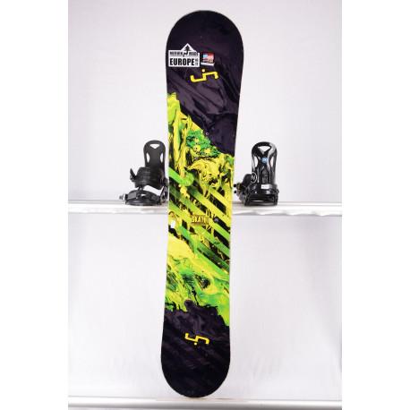 snowboard LIB TECH SKATE BANANA BTX WIDE, BLACK/yellow, WOODCORE, sidewall, HYBRID/rocker ( TOP stav )