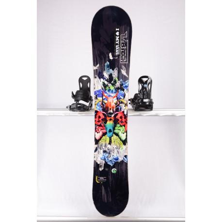 snowboard LIB TECH TRS POWER BANANA XC2 BTX, BLACK/skull, WOODCORE, sidewall, HYBRID/rocker ( TOP stav )