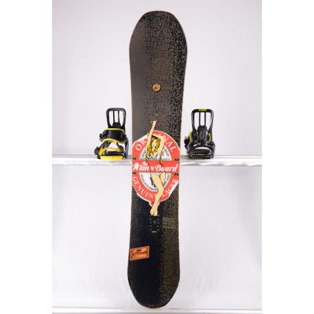 lumilauta SALOMON MAN'S BOARD, BLACK/brown, WOODCORE, carbon, sidewall, HYBRID/camber