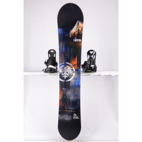 deska snowboardowa NEVER SUMMER THE CHAIRMAN X EAGLE, WOODCORE, CARBON, sidewall, HYBRID/rocker