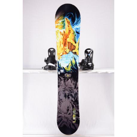 snowboard LIB TECH ATTACK BANANA EC2 BTX, WOODCORE, sidewall, HYBRID/rocker
