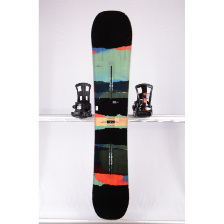 snowboard BURTON PROCESS FLYING V, EST WIDE, BLACK/sestr, THE CHANNEL, WOODCORE, sidewall, HYBRID/rocker