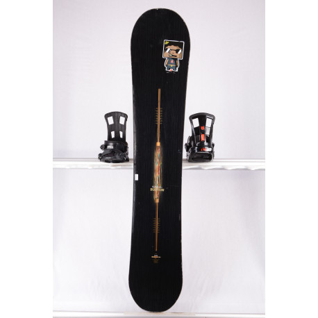 snowboard BURTON VAPOR PAUL SMITH, WIDE, WOODCORE, carbon, sidewall, The channel, CAMBER ( TOP stav )