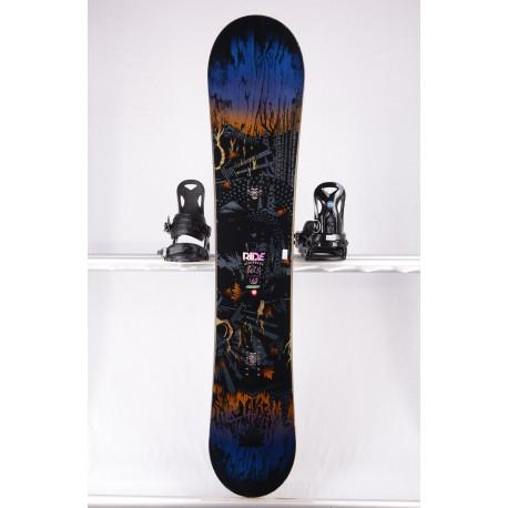 snowboard RIDE BERZERKER WIDE, BLACK/blue, WOODCORE, carbon, sidewall, HYBRID/camber ( TOP stav )