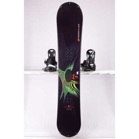 snowboard NIDECKER AXIS, BLACK/blue, SWISS made, WOODCORE, sidewall, CAMBER