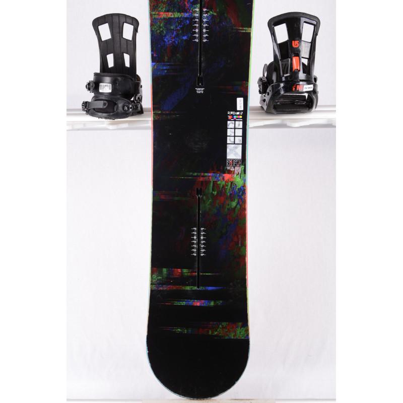 snowboard BURTON CUSTOM X WIDE, BLACK, WOODCORE, CARBON, SIDEWALL, The channel, CAMBER