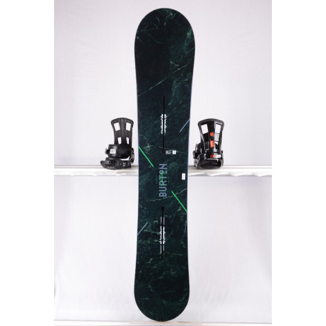 Snowboard BURTON CUSTOM X WIDE, GREEN, WOODCORE, CARBON, SIDEWALL, The channel, CAMBER ( TOP Zustand )
