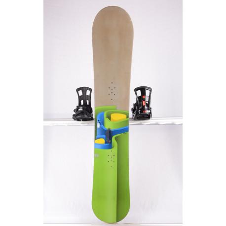 snowboard BURTON BULLET, GREEN/grey, WOODCORE, sidewall, CAMBER