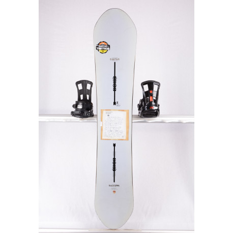 snowboard BURTON RESTRICTED EASY LIVIN, FLYING V, WOODCORE, sidewall, The channel, HYBRID/rocker