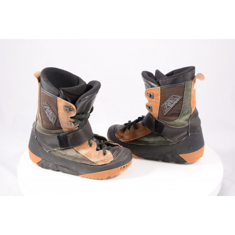 snowboardové topánky CRAZY CREEK, BLACK/brown