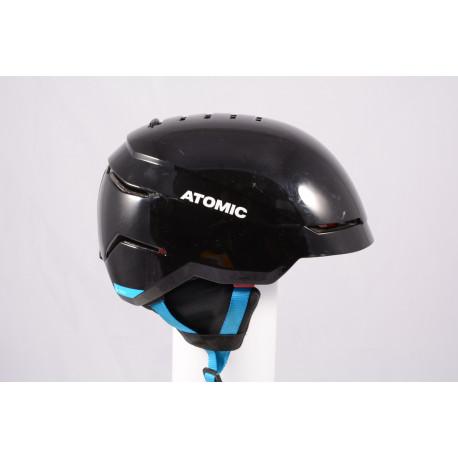 ski/snowboard helmet ATOMIC SAVOR 2019, BLACK/blue, Air ventilation, adjustable ( TOP condition )