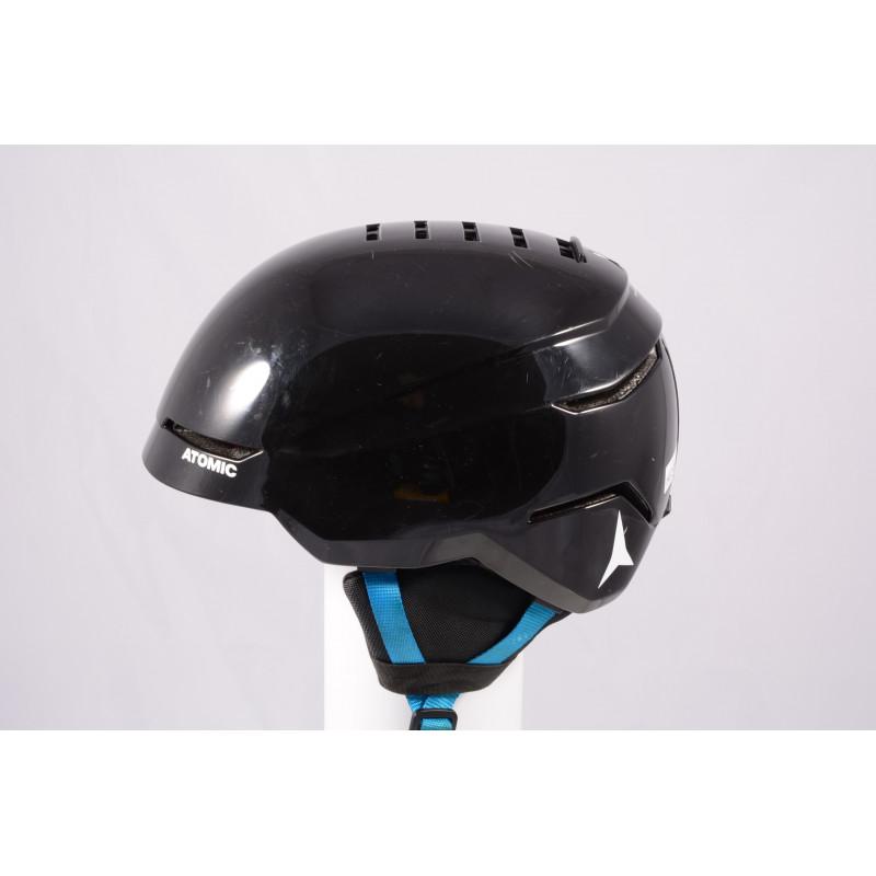 lyžiarska/snowboardová helma ATOMIC SAVOR 2019, BLACK/blue, Air ventilation, einstellbar ( TOP stav )