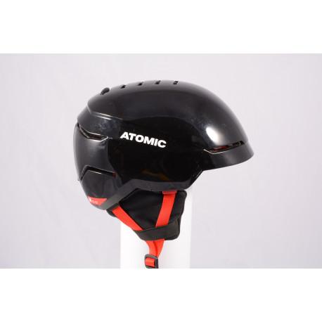 ski/snowboard helmet ATOMIC SAVOR 2019, BLACK/red, Air ventilation, adjustable ( TOP condition )