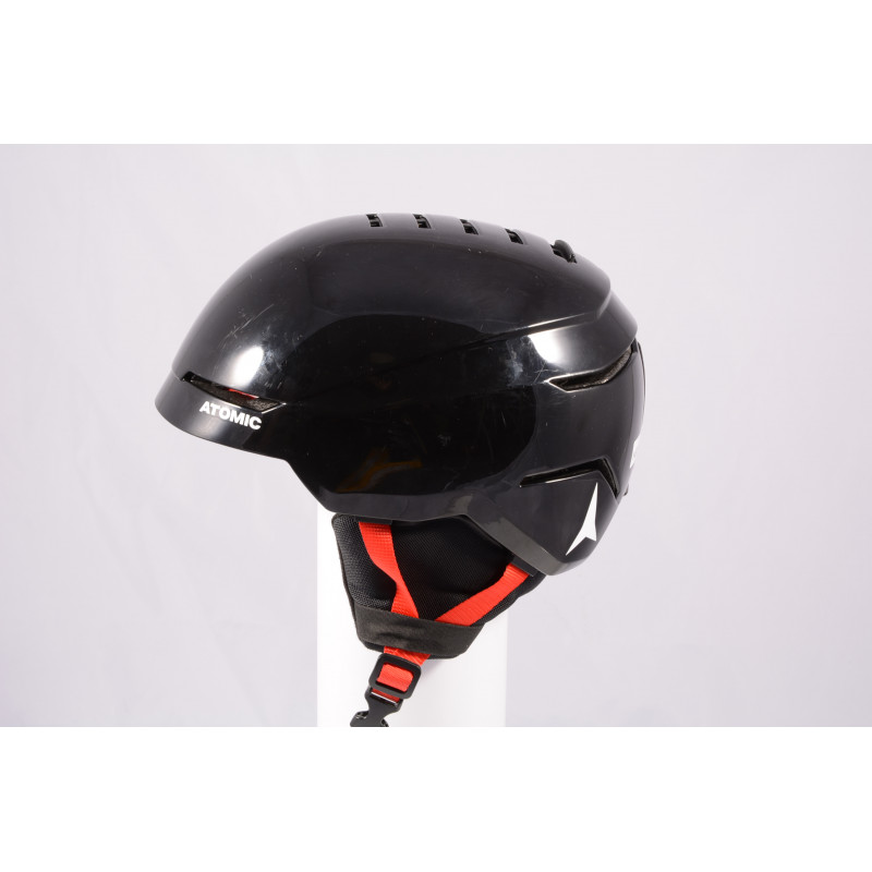 lyžiarska/snowboardová helma ATOMIC SAVOR 2019, BLACK/red, Air ventilation, einstellbar ( TOP stav )