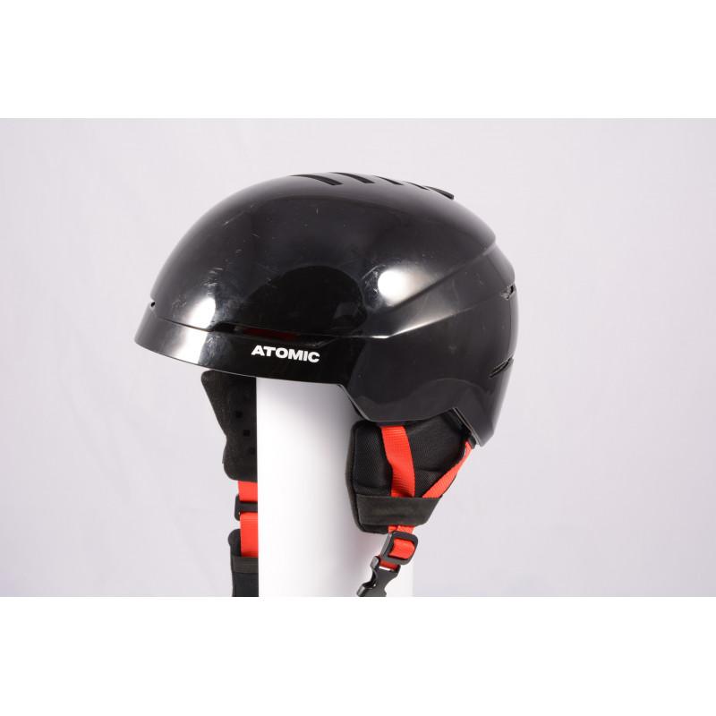 lyžiarska/snowboardová helma ATOMIC SAVOR 2019, BLACK/red, Air ventilation, einstellbar ( TOP stav )