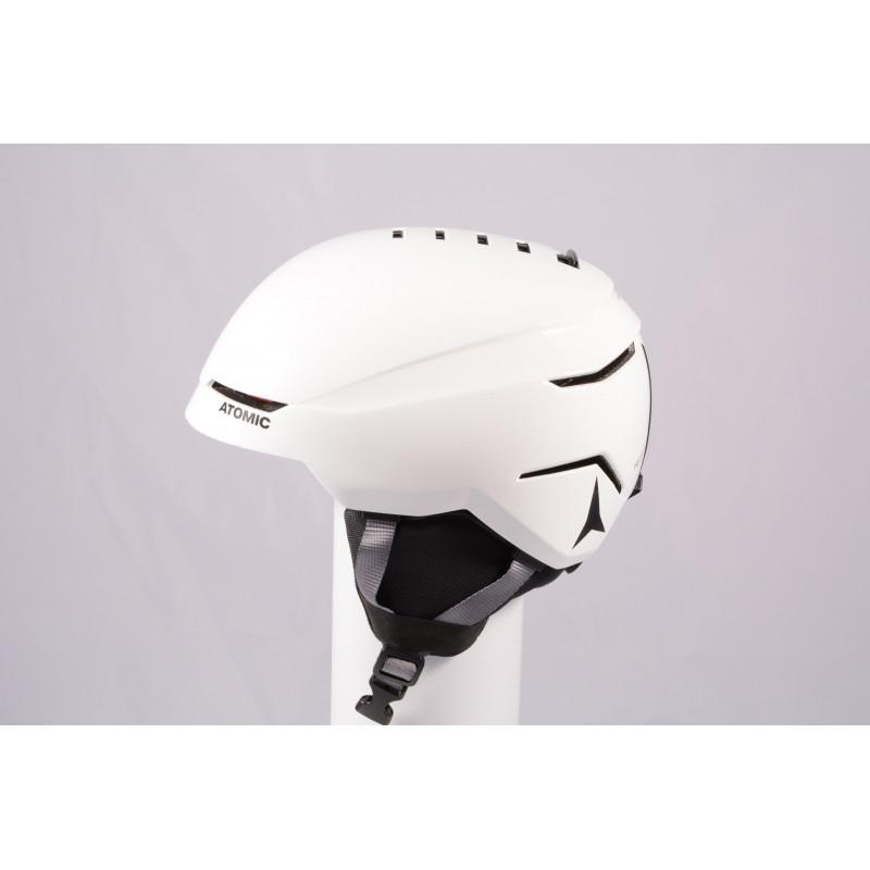 lyžiarska/snowboardová helma ATOMIC SAVOR 2019, WHITE/grey, Air ventilation, einstellbar ( TOP stav )