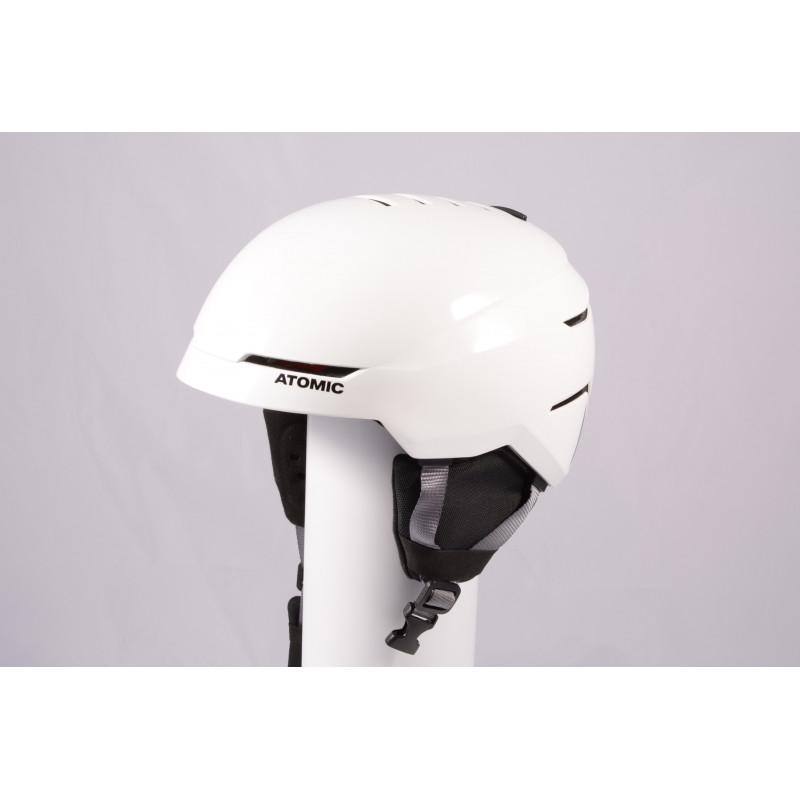 ski/snowboard helmet ATOMIC SAVOR 2019, WHITE/grey, Air ventilation, adjustable ( TOP condition )