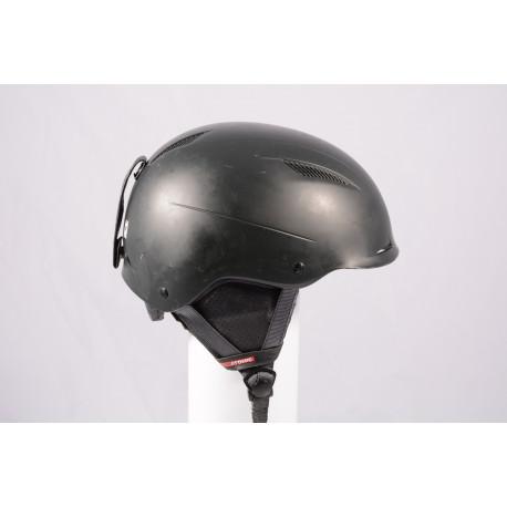 ski/snowboard helmet ATOMIC SAVOR LF live fit 2018, BLACK/black, adjustable