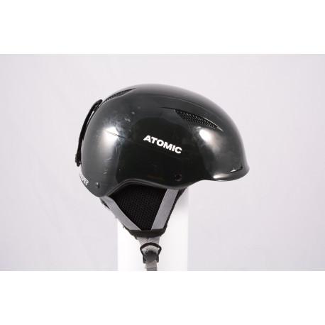 ski/snowboard helmet ATOMIC SAVOR LF live fit 2018, BLACK/grey, adjustable ( TOP condition )