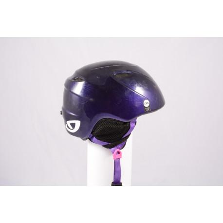 ski/snowboard helmet GIRO SLINGSHOT violet, adjustable ( TOP condition )