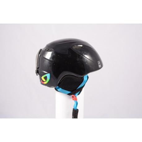 ski/snowboard helmet GIRO SLINGSHOT, Black, adjustable ( TOP condition )
