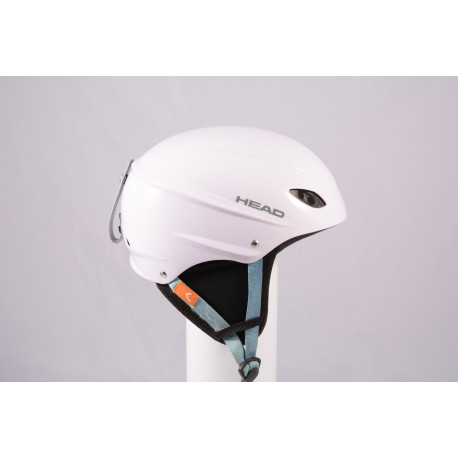 ski/snowboard helmet HEAD 2020 WHITE/blue, adjustable ( TOP condition )