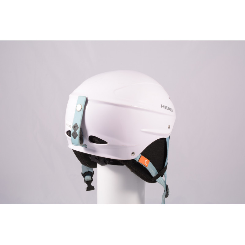 lyžiarska/snowboardová helma HEAD 2020 WHITE/blue, einstellbar ( TOP stav )