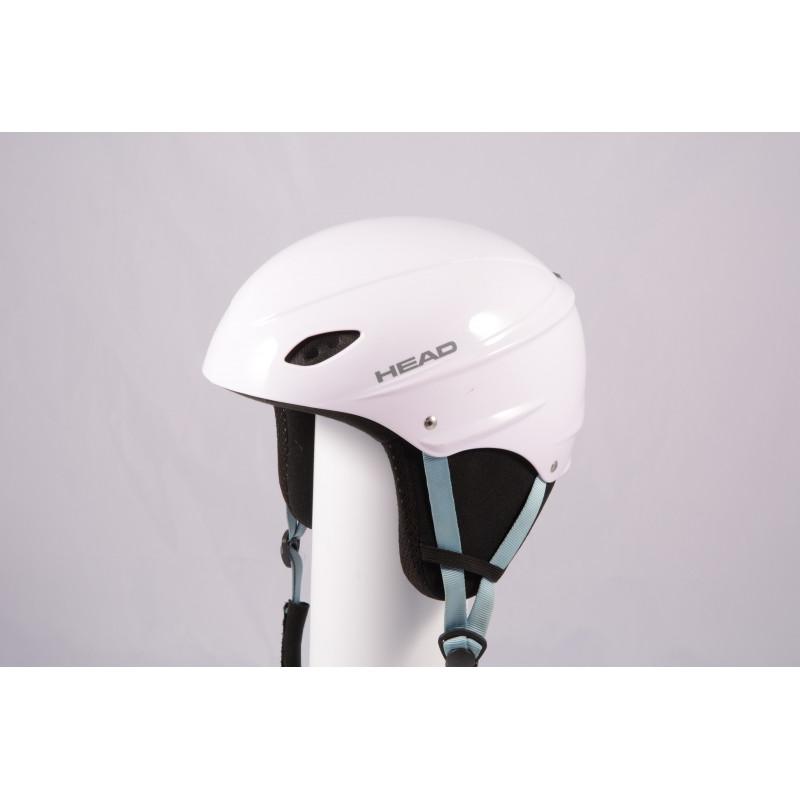 lyžiarska/snowboardová helma HEAD 2020 WHITE/blue, einstellbar ( TOP stav )